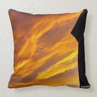 The Harlem Sky Throw Pillow