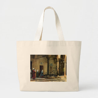 The Harlem woman who at the courtyard does the fee Tote Bag