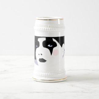 The Harlequin Beer Stein