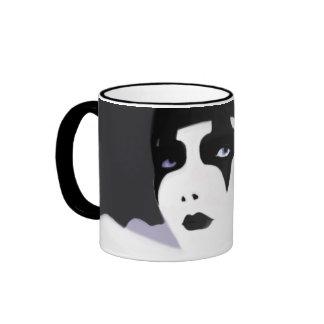 The Harlequin Coffee Mugs