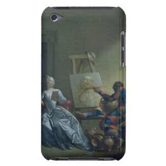 The Harlequin Painter, c.1742 (oil on canvas) iPod Touch Case