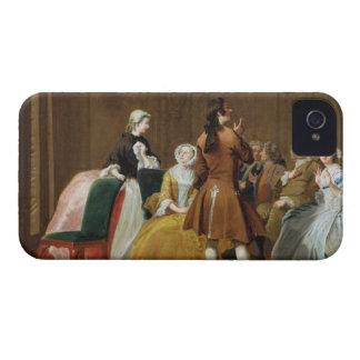 The Harlowe Family, from Samuel Richardson's 'Clar iPhone 4 Case-Mate Cases