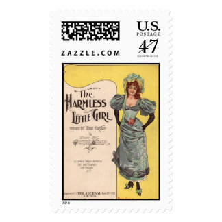 The Harmless Little Girl Postage