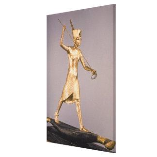 The Harpooner, from the Tomb of Tutankhamun Canvas Print