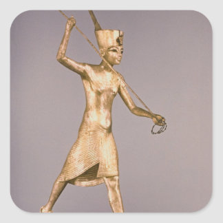 The Harpooner, from the Tomb of Tutankhamun Square Sticker