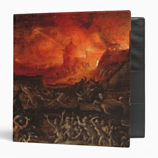 The Harrowing of Hell Vinyl Binder