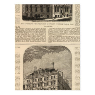 The Hartford Fire Insurance Company Postcard