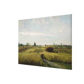 The Harvest, 1851 Canvas Print