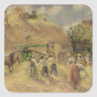 The Harvest, 1883 Square Sticker