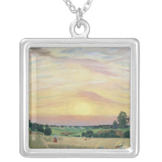 The Harvest, 1914 Silver Plated Necklace