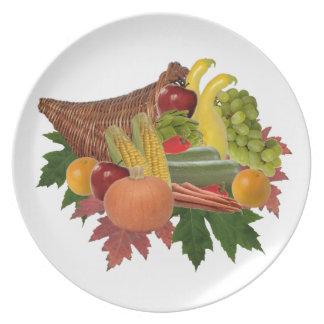 The Harvest Dinner Plate