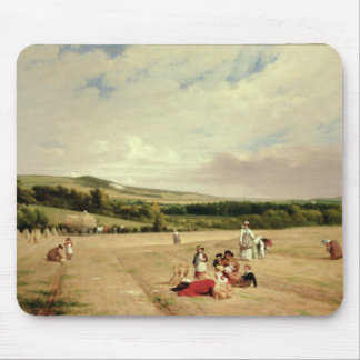 The Harvest Field (oil on canvas) Mouse Pad