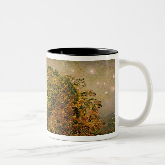 The Harvest Moon, 1833 (oil on paper laid on panel Two-Tone Coffee Mug
