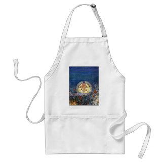 The Harvest Moon - Charles Rennie Mackintosh Adult Apron