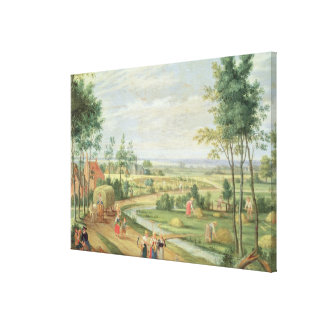 The Harvest, or Summer Canvas Print