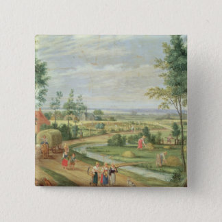 The Harvest, or Summer Pinback Button
