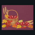 "The Harvest-Plum Faux Wrapped Canvas Print<br><div class=""desc"">New Wall Art