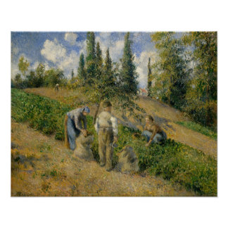 The Harvest, Pontoise Poster