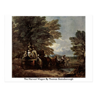 The Harvest Wagon By Thomas Gainsborough Postcard