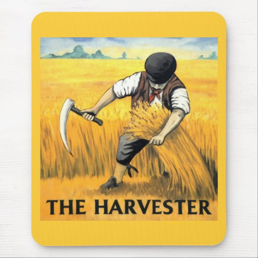 The Harvester Mouse Pad