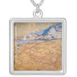 The Harvester Square Pendant Necklace