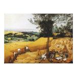 The Harvesters by Pieter Bruegel the Elder 1565 Canvas Prints