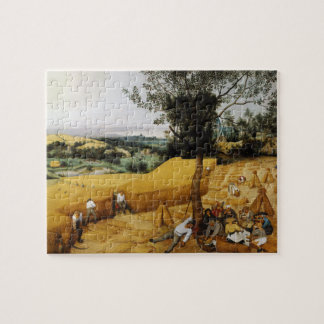 The Harvesters by Pieter Bruegel the Elder 1565 Jigsaw Puzzle