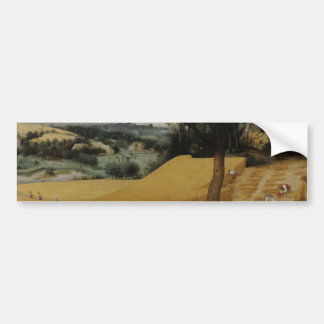 The Harvesters by Pieter Bruegel the Elder Car Bumper Sticker