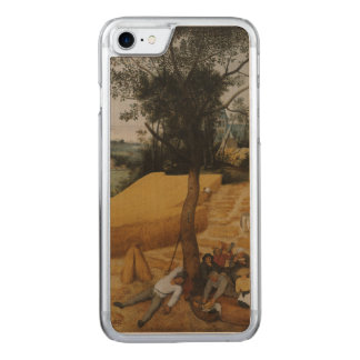 The Harvesters by Pieter Bruegel the Elder Carved iPhone 7 Case