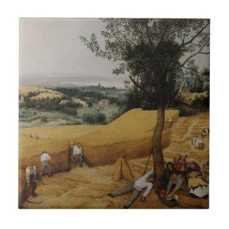 The Harvesters by Pieter Bruegel the Elder Ceramic Tile