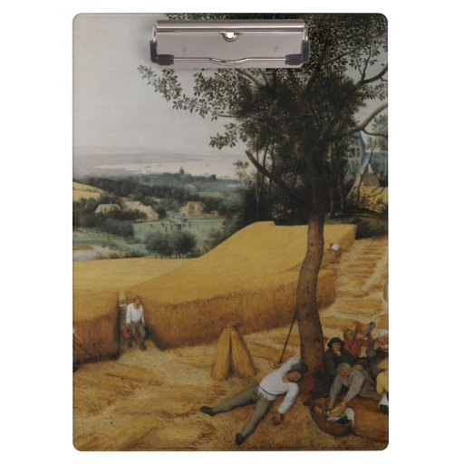 The Harvesters by Pieter Bruegel the Elder Clipboards