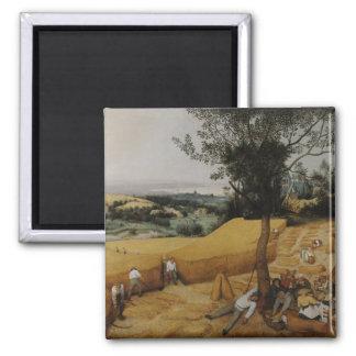 The Harvesters by Pieter Bruegel the Elder Magnet