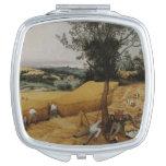 The Harvesters by Pieter Bruegel the Elder Makeup Mirror
