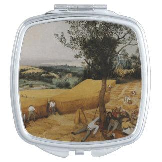The Harvesters by Pieter Bruegel the Elder Mirror For Makeup