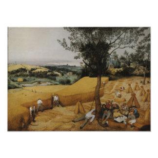 The Harvesters by Pieter Bruegel the Elder Photo Print