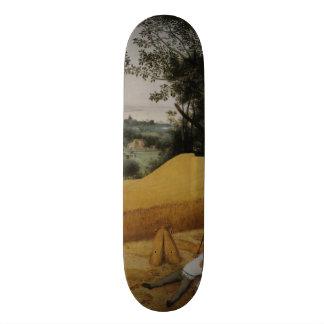 The Harvesters by Pieter Bruegel the Elder Skateboard Deck