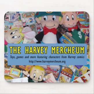 The Harvey Mercheum Mouse Pad