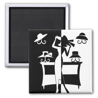 The Hat Sale 2 Inch Square Magnet