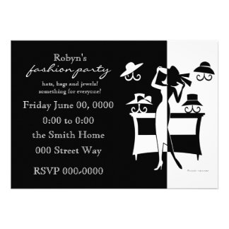 The Hat Sale Personalized Invitations