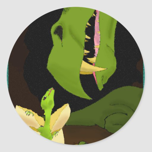 The Hatchling Classic Round Sticker