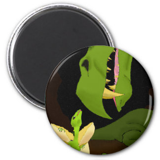 The Hatchling 2 Inch Round Magnet