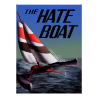 The Hate Boat ICS Poster