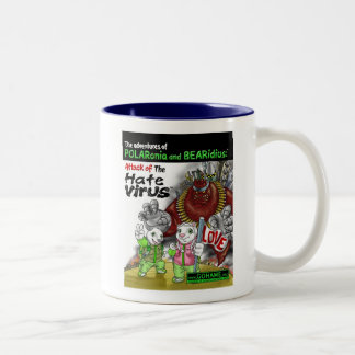 The Hate Virus Two-Tone Coffee Mug