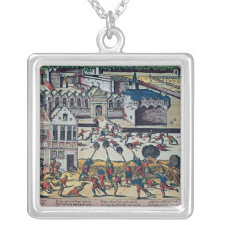 The Haultepenne Fury in 1581 Silver Plated Necklace