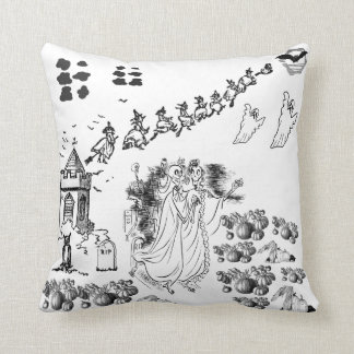 The Haunted Ceremony - Throw Pillows