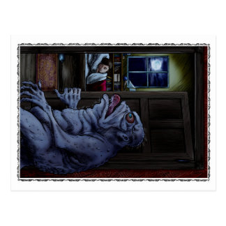 The Haunted Doll House Postcard