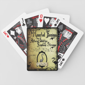 The Haunted Flamingo deck of cards