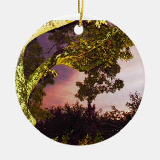 The Haunted Forest Ceramic Ornament