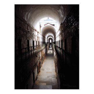 The haunted Hallway Postcard
