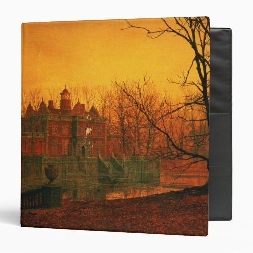 The Haunted House 3 Ring Binder